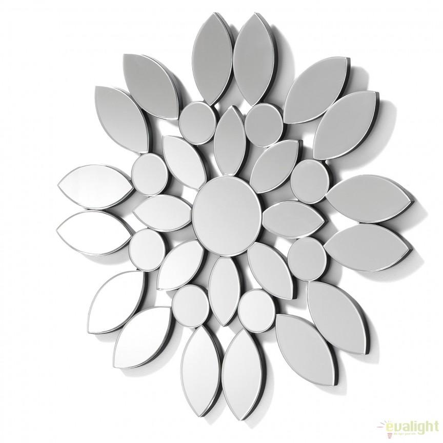 Oglinda decorativa moderna diametru 80cm UOMAS EA275C37 JG, Corpuri de iluminat, lustre, aplice, veioze, lampadare, plafoniere. Mobilier si decoratiuni, oglinzi, scaune, fotolii. Oferte speciale iluminat interior si exterior. Livram in toata tara.