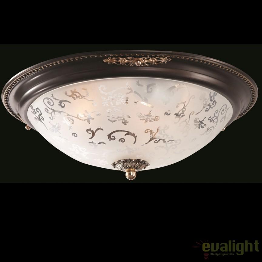 Plafoniera în stil clasic cu elemente decorative Diametrik 03-R MYC907-CL-03-R, Lustre aplicate, Plafoniere clasice,  a