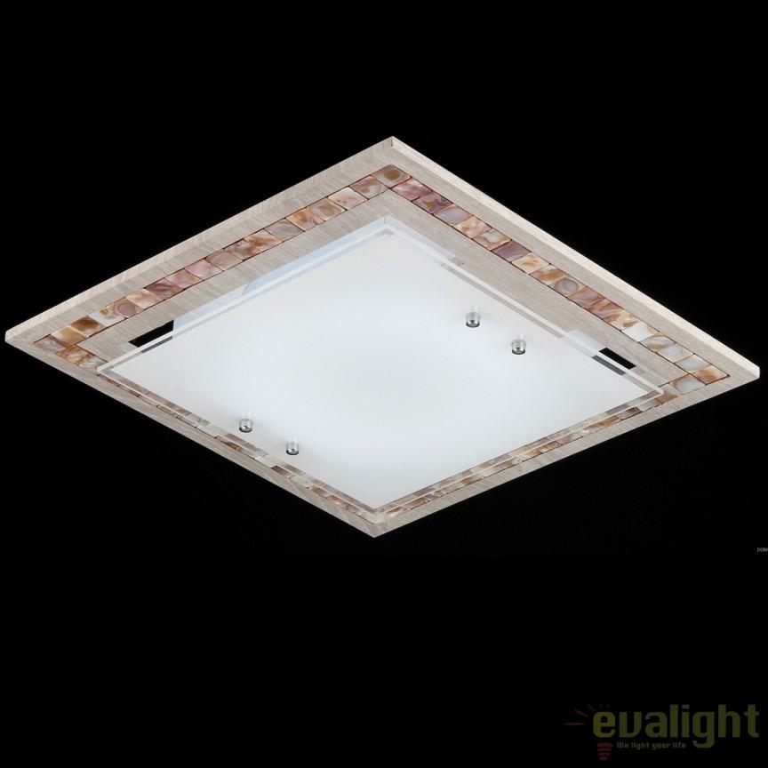Aplica de perete / Plafoniera în stil clasic Simmetria 40cm provenceMY810-03-W , Plafoniere, Spots, Corpuri de iluminat, lustre, aplice, veioze, lampadare, plafoniere. Mobilier si decoratiuni, oglinzi, scaune, fotolii. Oferte speciale iluminat interior si exterior. Livram in toata tara.  a
