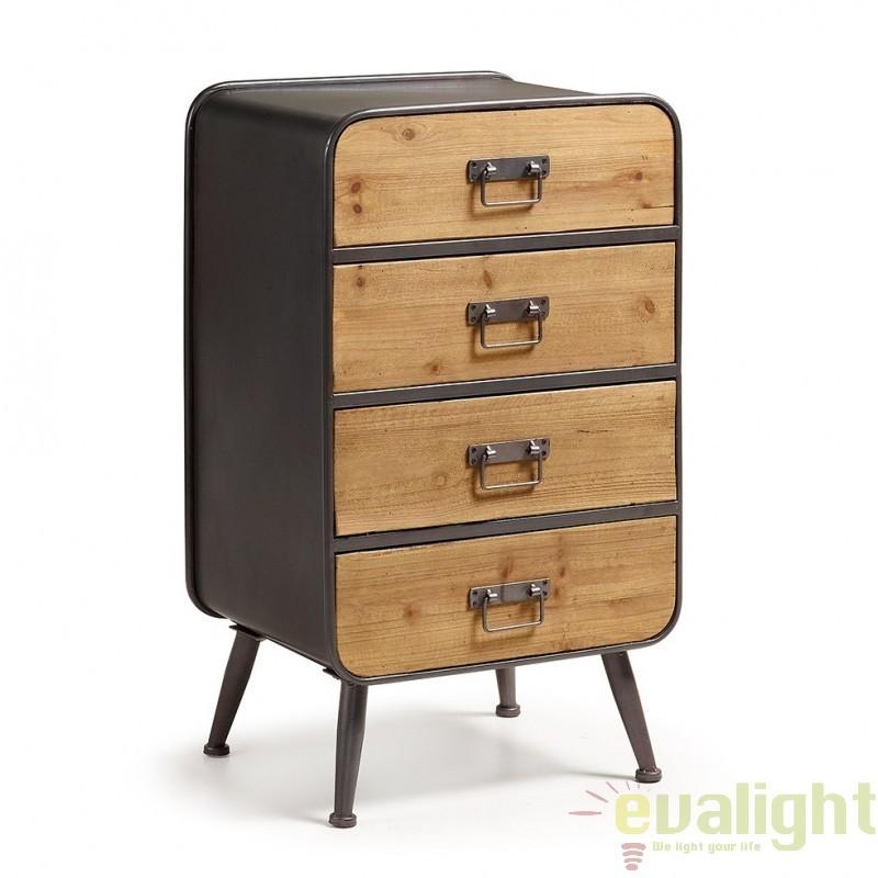 Dulap cu structura metalica si sertare din lemn de brad HELIA C736M01 JG, Dulapuri / Comode moderne⭐ modele elegante de lux mobila cu sertare, usi si rafturi pentru dormitor, hol și living.❤️Promotii mese si comode TV❗ Intra si vezi poze ➽ www.evalight.ro. ➽ sursa ta de inspiratie online❗ ✅Design deosebit original premium actual Top 2020❗ Alege comode lungi masute tip comode TV din lemn, metal, sticla, lucioase, cu picioare inalte metalice, oglinda: clasice in stil baroc, scandinave, minimalist, vintage retro, industrial, pt sufragerie, intra ➽vezi oferte si reduceri cu vanzare rapida din stoc, ieftine si de calitate deosebita la cel mai bun pret. a