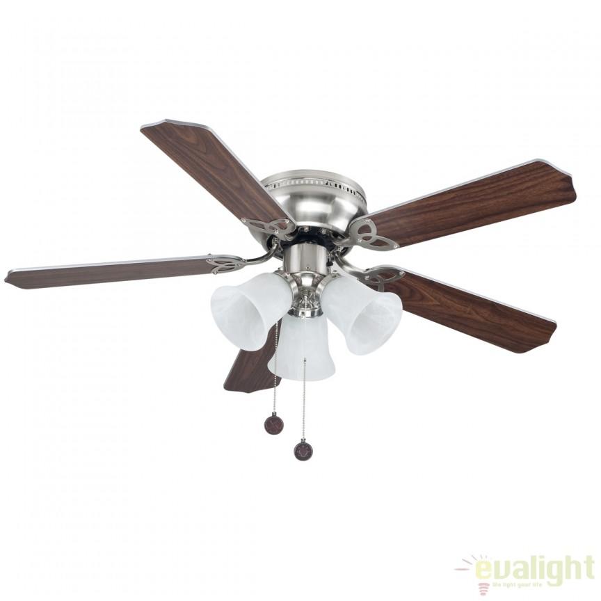 Lustra cu ventilator, palete in 2 culori, WESTLAND nickel 75439 SU, Rezultate cautare, Corpuri de iluminat, lustre, aplice a