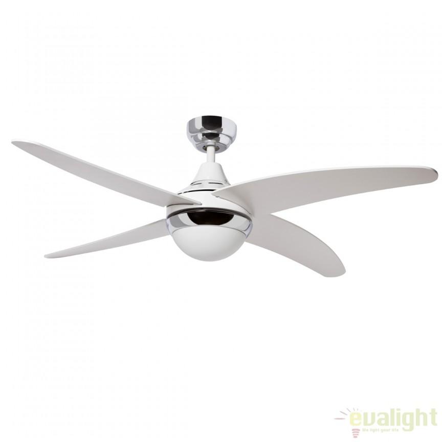 Lustra cu ventilator si telecomanda BELAIR 75663 SU, Rezultate cautare, Corpuri de iluminat, lustre, aplice a