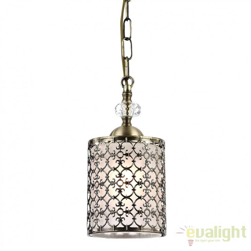Pendul elegant realizat manual Sherborn-G MYRC015-PL-01-G, PROMOTII, Corpuri de iluminat, lustre, aplice, veioze, lampadare, plafoniere. Mobilier si decoratiuni, oglinzi, scaune, fotolii. Oferte speciale iluminat interior si exterior. Livram in toata tara.  a
