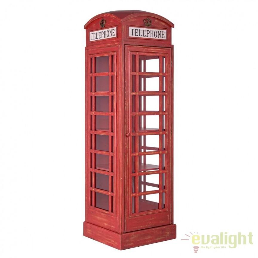 Biblioteca desing industria style RED CABIN 0744581 BZ, Vitrine - Rafturi,  a
