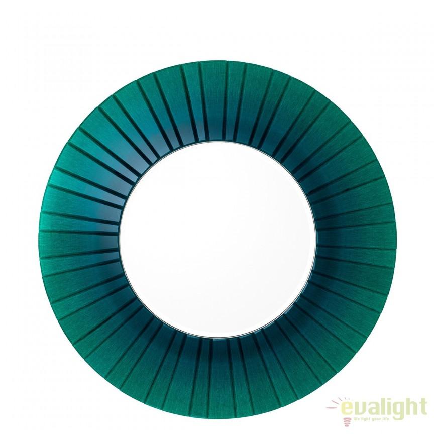 Oglinda decorativa LUX diametru 110cm Lecanto 110708 HZ, Oglinzi decorative,  a