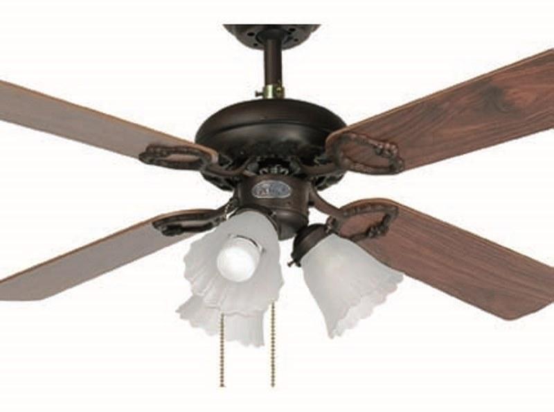 Lustra Ventilator cu palete ventilatie in doua culori Lisboa 33102 Faro Barcelona, Lustra cu Ventilator, Corpuri de iluminat, lustre, aplice a