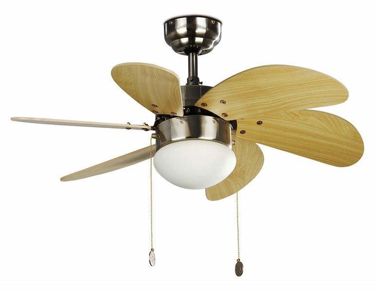 Lustra Ventilator diam. 76cm Palao 33183 Faro Barcelona, Lustra cu Ventilator, Corpuri de iluminat, lustre, aplice a