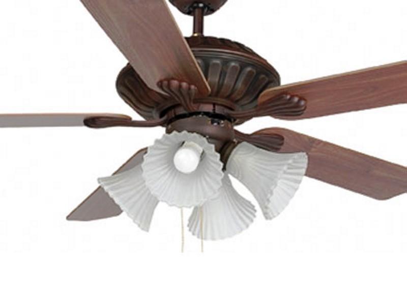 Lustra Ventilator cu palete ventilatie in doua culori Corso 33274 Faro Barcelona, Lustra cu Ventilator, Corpuri de iluminat, lustre, aplice a