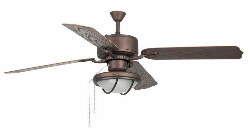 Lustra Ventilator exterior IP44 diam. 132cm Hierro 33356 Faro Barcelona, Lustra cu Ventilator, Corpuri de iluminat, lustre, aplice a
