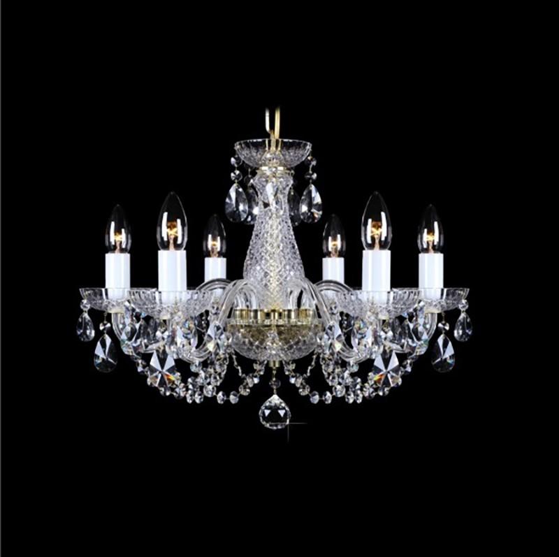Lustra 6 brate cristal Bohemia L11 006/06/1-A, Cele mai vandute Corpuri de iluminat, lustre, aplice, veioze, lampadare, plafoniere. Mobilier si decoratiuni, oglinzi, scaune, fotolii. Oferte speciale iluminat interior si exterior. Livram in toata tara.  a