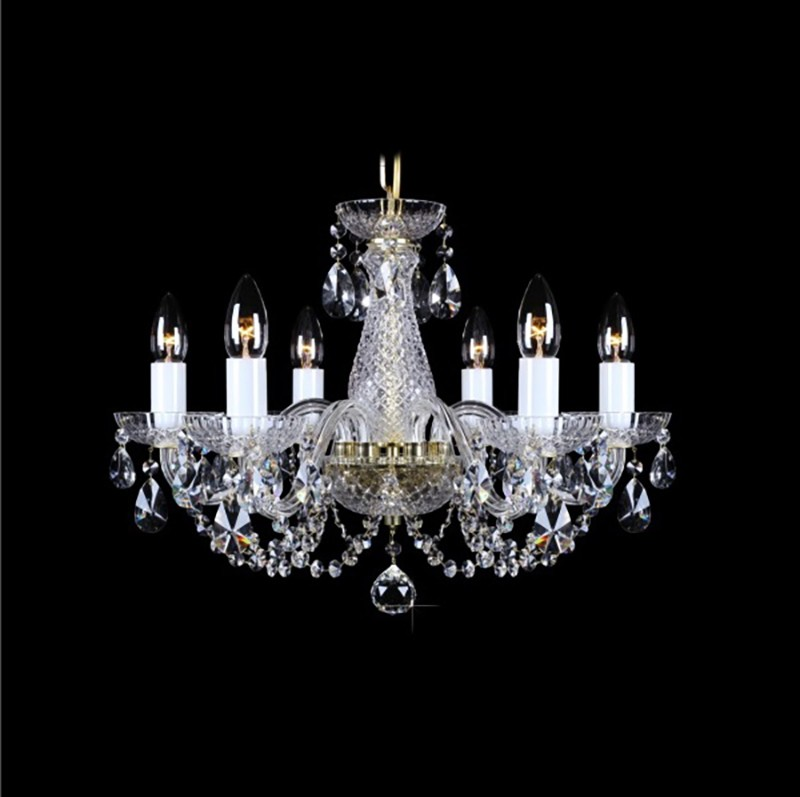 Lustra 6 brate cristal Bohemia L11 006/06/1-A, Lustre Cristal Bohemia, Corpuri de iluminat, lustre, aplice, veioze, lampadare, plafoniere. Mobilier si decoratiuni, oglinzi, scaune, fotolii. Oferte speciale iluminat interior si exterior. Livram in toata tara.  a