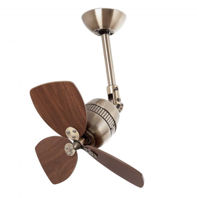 Ventilator modern, diam.46cm, palete finisaj nuc, VEDRA 33450 Faro Barcelona , Rezultate cautare, Corpuri de iluminat, lustre, aplice a