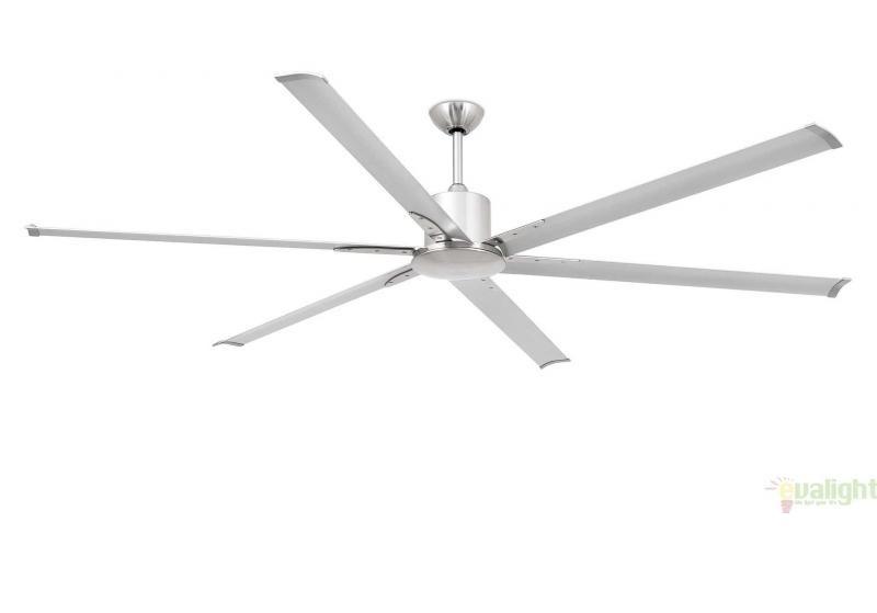Ventilator modern cu telecomanda, diam. 201 cm, 6 palete aluminiu ANDROS 33465 Faro Barcelona , Rezultate cautare, Corpuri de iluminat, lustre, aplice a
