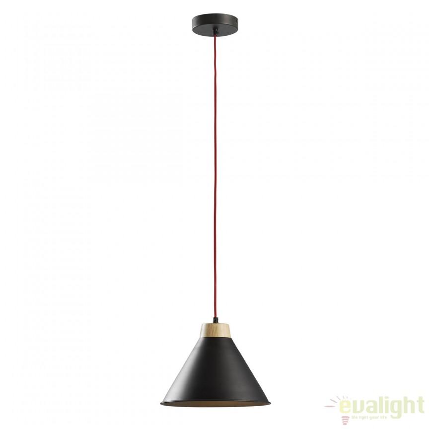 Lustra suspendata / Pendul modern BOBS negru A509R01 JG, PROMOTII,  a