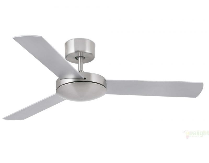 Ventilator modern diam. 106cm cu palete in 2 culori, MINI MALLORCA Nickel Mat 33604 Faro Barcelona , Rezultate cautare, Corpuri de iluminat, lustre, aplice a