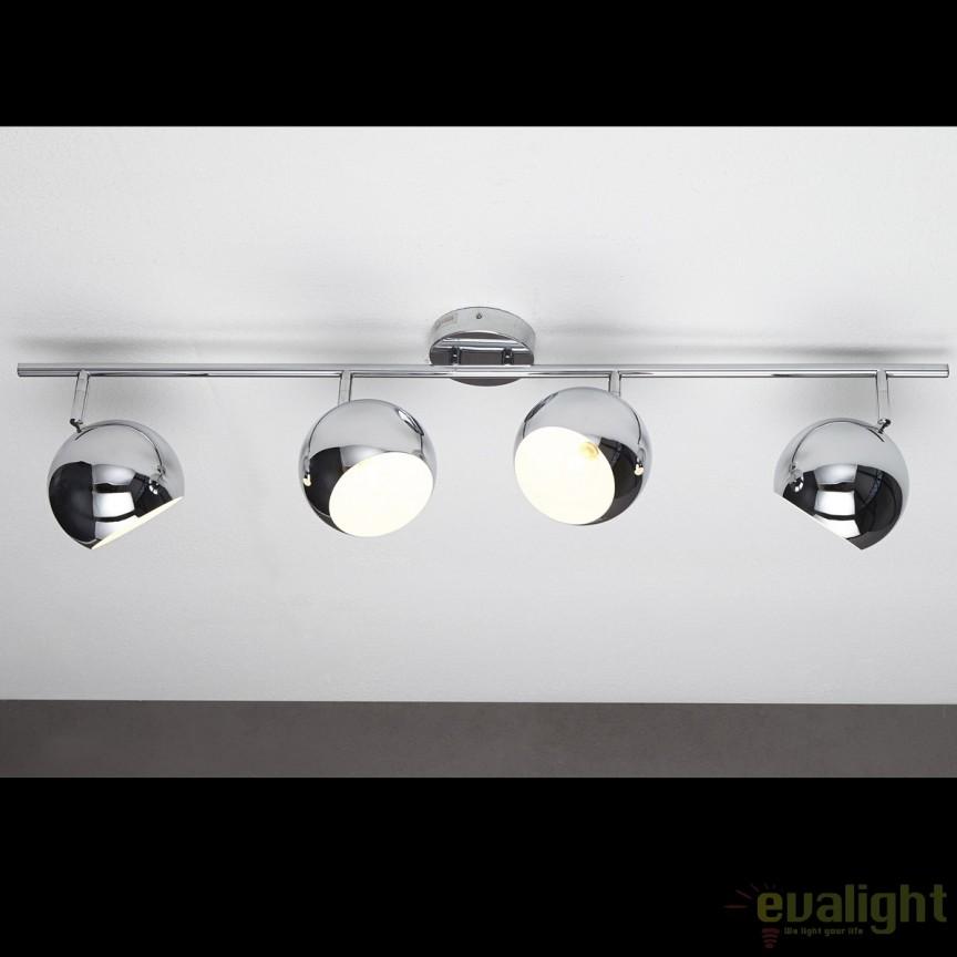 Lustra aplicata design modern Bubble chrom A-11168 VC, PROMOTII, Corpuri de iluminat, lustre, aplice, veioze, lampadare, plafoniere. Mobilier si decoratiuni, oglinzi, scaune, fotolii. Oferte speciale iluminat interior si exterior. Livram in toata tara.  a