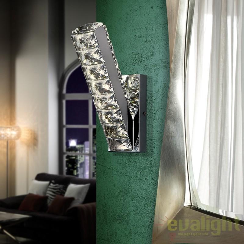 Aplica de perete LED design modern DIVA SV-854683, Promotii si Reduceri⭐ Oferte ✅Corpuri de iluminat ✅Lustre ✅Mobila ✅Decoratiuni de interior si exterior.⭕Pret redus online➜Lichidari de stoc❗ Magazin ➽ www.evalight.ro. a