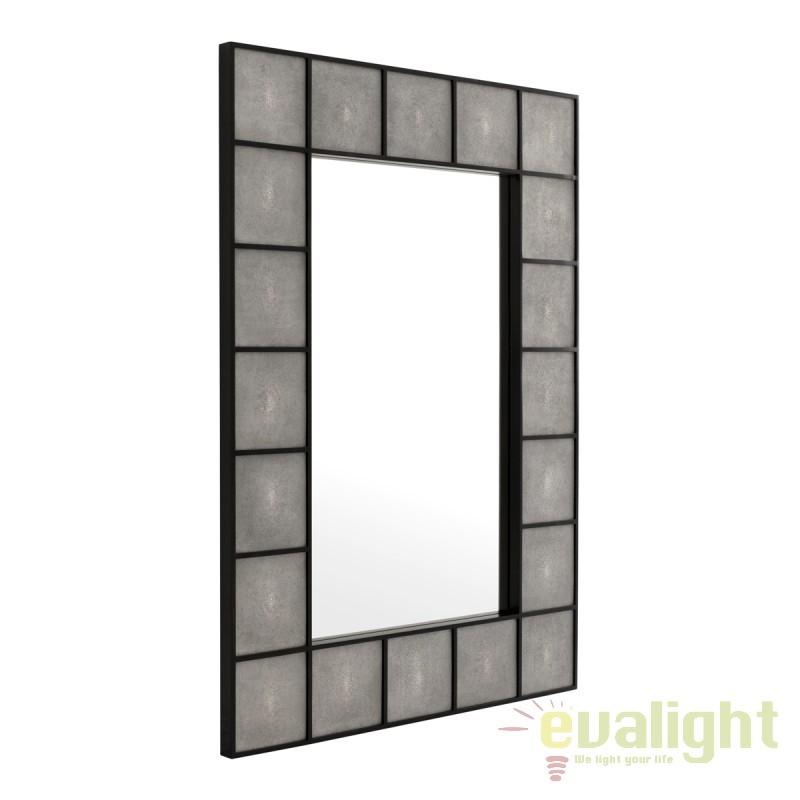 Oglinda decorativa Shagreen negru/ sagrin 109587 HZ, Oglinzi decorative,  a