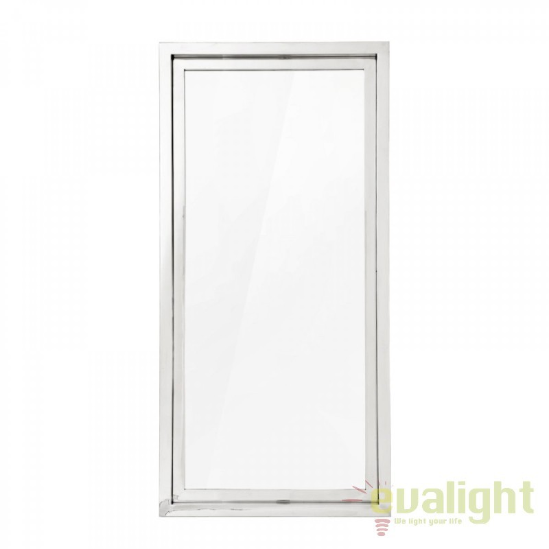 Oglinda decorativa cu rama din otel inoxidabil Moore 108975 HZ, Oglinzi decorative,  a
