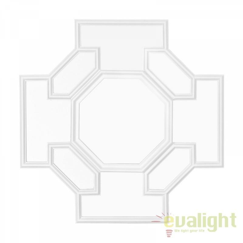 Oglinda design clasic cu rama din lemn Borromeo 108705 HZ, Oglinzi decorative,  a