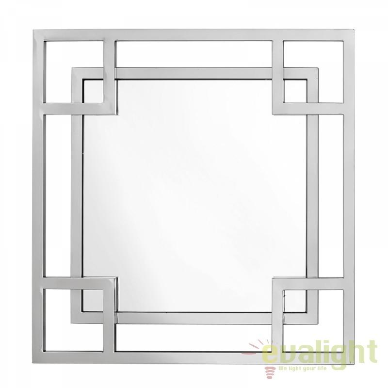 Oglinda eleganta LUX cu rama din otel inoxidabil Dior 108730 HZ, Oglinzi decorative,  a
