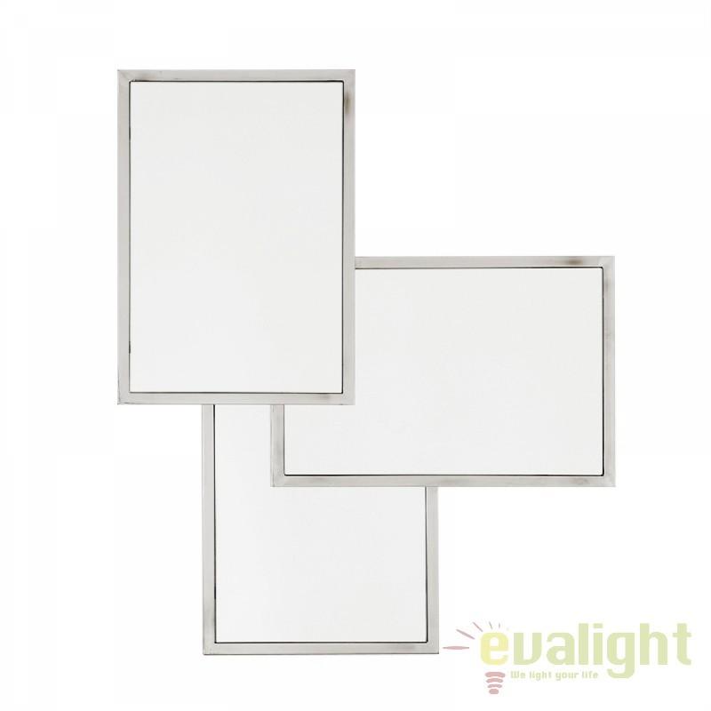 Oglinda decorativa eleganta LUX Sensation argintiu 108185 HZ, Oglinzi decorative,  a
