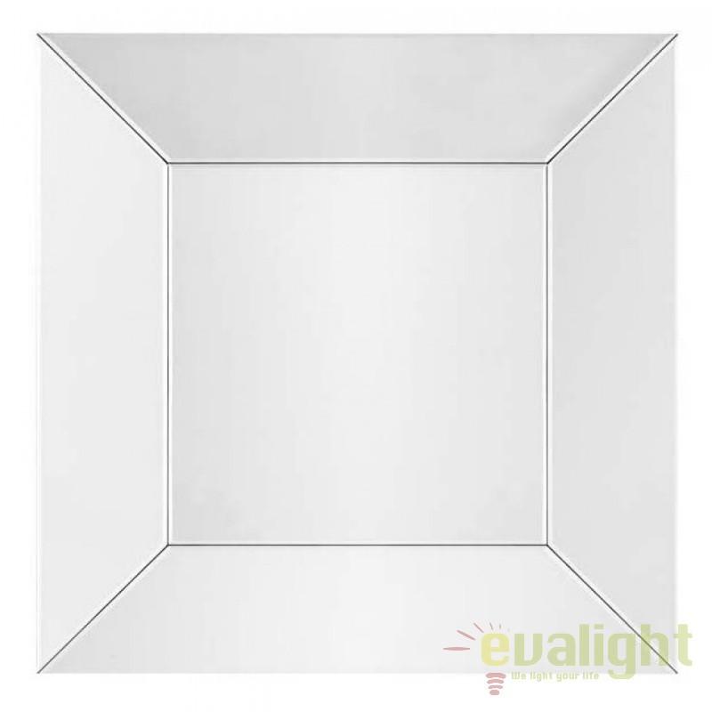 Oglinda design modern Glass argintiu dim.100x100cm 104720 HZ, Oglinzi decorative,  a