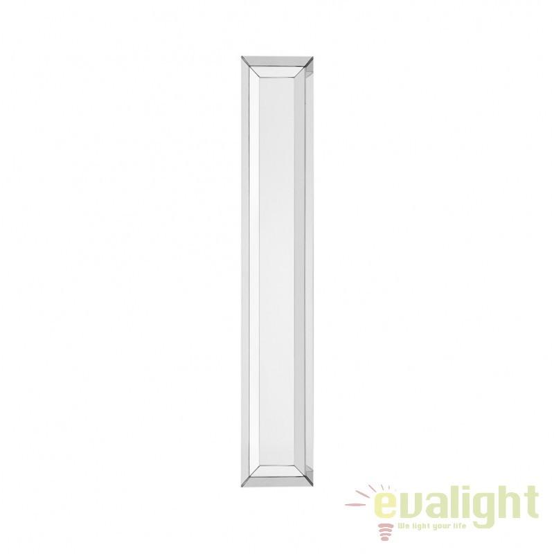Oglinda decorativa design clasic Slim argintiu 106135 HZ, Oglinzi decorative,  a