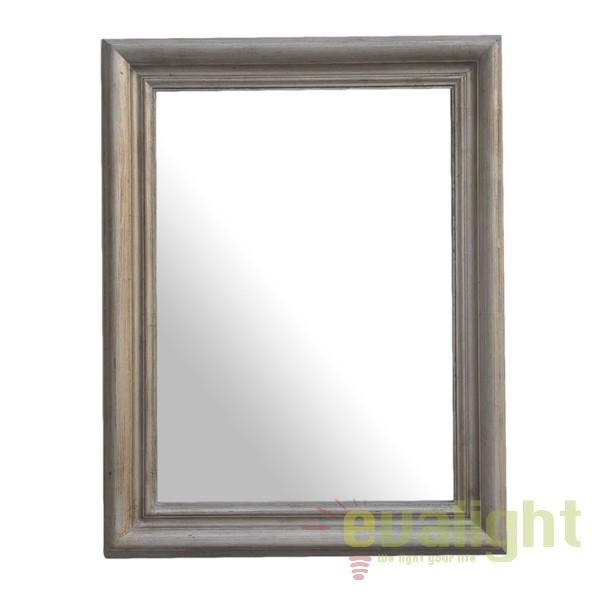 Oglinda decorativa design clasic ELITE 90x70 argintiu ELITECS90 SM, PROMOTII, Corpuri de iluminat, lustre, aplice, veioze, lampadare, plafoniere. Mobilier si decoratiuni, oglinzi, scaune, fotolii. Oferte speciale iluminat interior si exterior. Livram in toata tara.  a