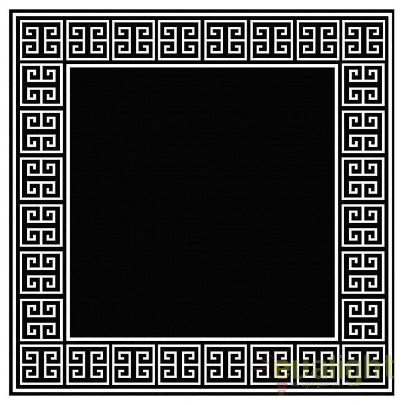 Covor modern din lana 100% APOLLO Negru/Alb 300x300 108537 HZ, Covoare design decorativ modern pentru interior, exterior , Corpuri de iluminat, lustre, aplice, veioze, lampadare, plafoniere. Mobilier si decoratiuni, oglinzi, scaune, fotolii. Oferte speciale iluminat interior si exterior. Livram in toata tara.  a