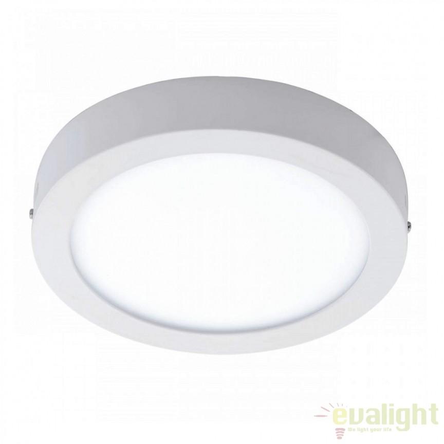 Aplica / Plafoniera LED  diam. 30 cm, FUEVA 1 94536 EL, ILUMINAT INTERIOR LED , ⭐ modele moderne de lustre LED cu telecomanda potrivite pentru living, bucatarie, birou, dormitor, baie, camera copii (bebe si tineret), casa scarii, hol. ✅Design de lux premium actual Top 2020! ❤️Promotii lampi LED❗ ➽ www.evalight.ro. Alege oferte la sisteme si corpuri de iluminat cu LED dimabile (becuri cu leduri si module LED integrate cu lumina calda, naturala sau rece), ieftine si de lux. Cumpara la comanda sau din stoc, oferte si reduceri speciale cu vanzare rapida din magazine la cele mai bune preturi. Te aşteptăm sa admiri calitatea superioara a produselor noastre live în showroom-urile noastre din Bucuresti si Timisoara❗ a