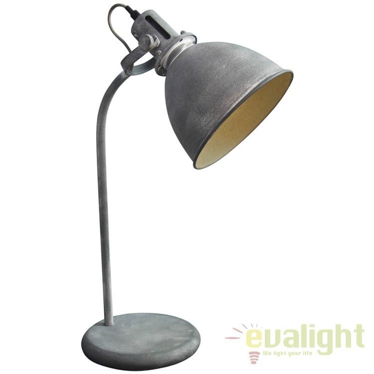 Lampa de masa design Industria Style Jesper 23749/70 BL, NOU ! Lustre VINTAGE, RETRO, INDUSTRIA Style,  a