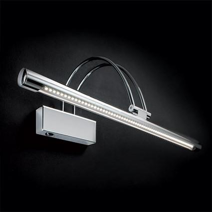 Aplica de perete LED BOW AP66 CROMO 007045, Cele mai vandute Corpuri de iluminat, lustre, aplice, veioze, lampadare, plafoniere. Mobilier si decoratiuni, oglinzi, scaune, fotolii. Oferte speciale iluminat interior si exterior. Livram in toata tara.  a