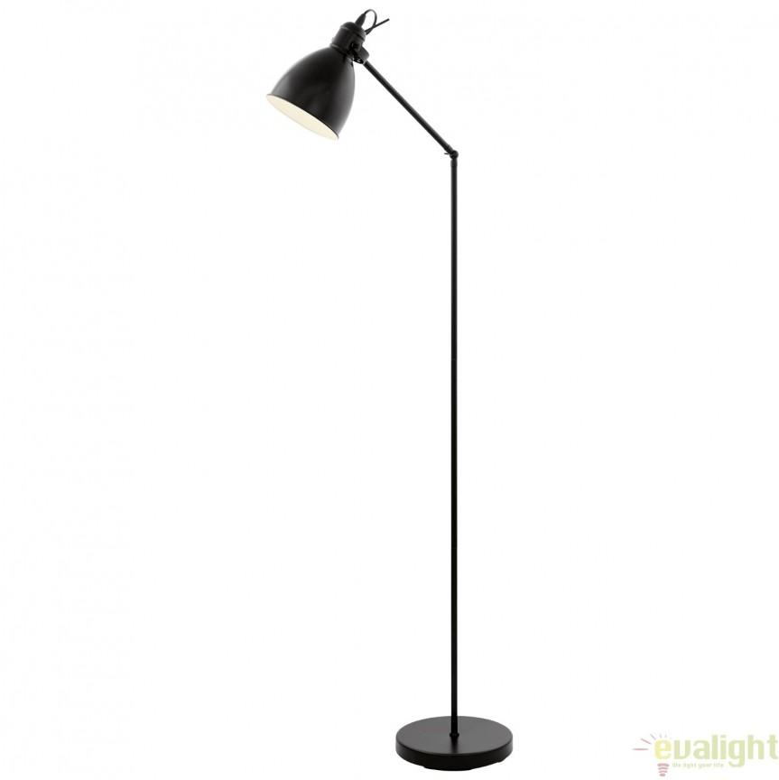 Lampadar, lampa de podea industrial style, PRIDDY 49471 EL, Magazin,  a