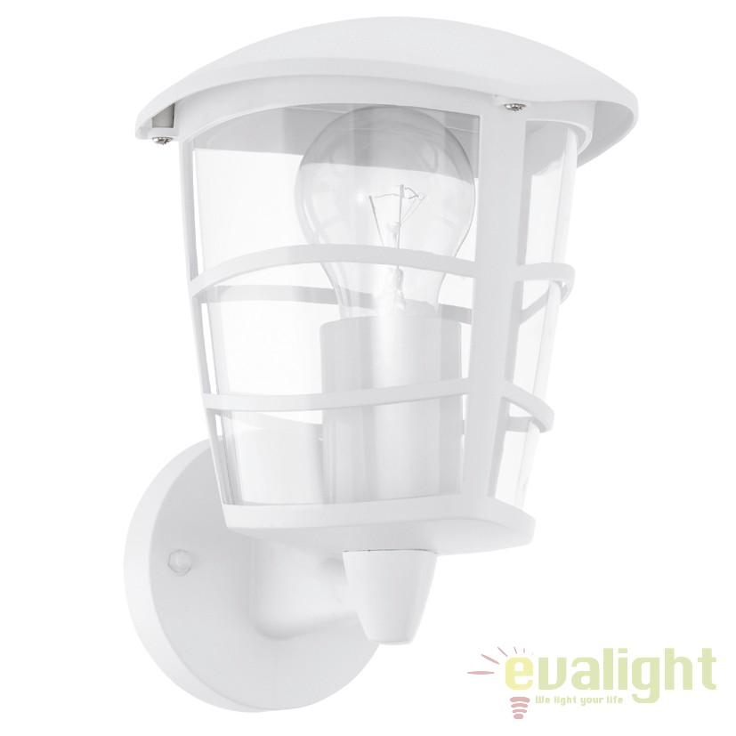 Aplica de perete exterior, protectie IP44, ALORIA alb 93094 EL, Aplice de exterior clasice, rustice, traditionale,  a