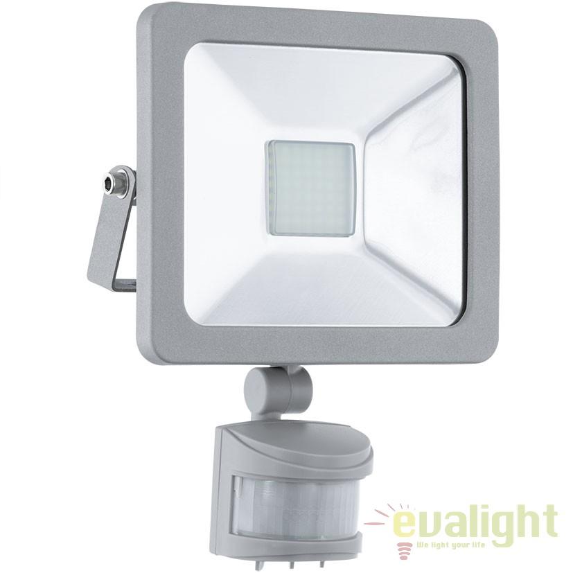 Proiector de exterior cu senzor de miscare LED, protectie IP44, FAEDO 1 95408 EL, Proiectoare de iluminat exterior , Corpuri de iluminat, lustre, aplice, veioze, lampadare, plafoniere. Mobilier si decoratiuni, oglinzi, scaune, fotolii. Oferte speciale iluminat interior si exterior. Livram in toata tara.  a
