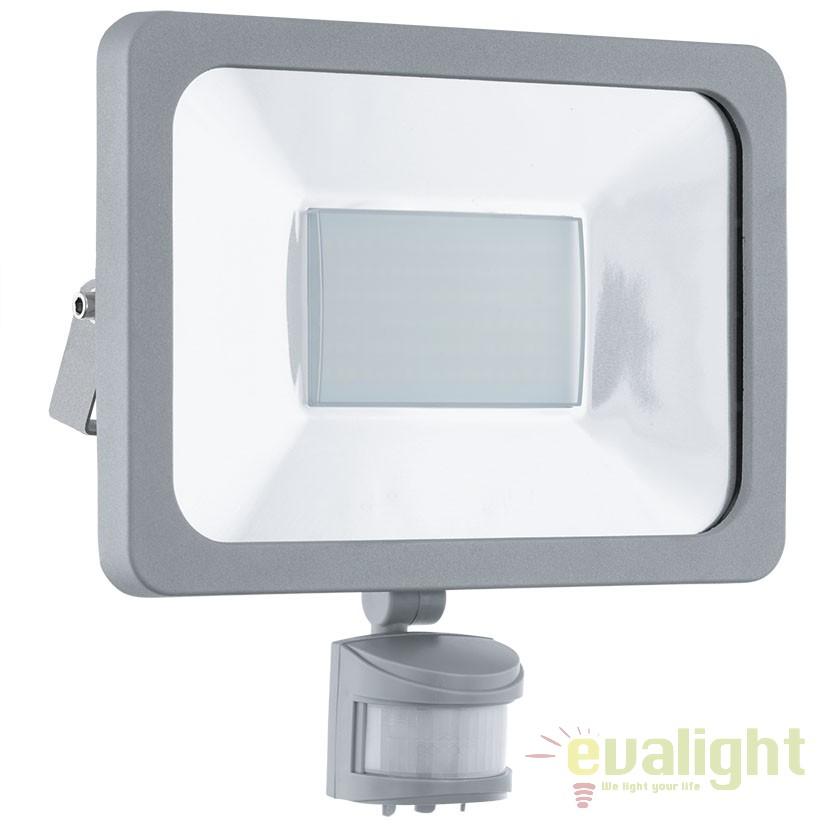 Proiector de exterior cu senzor de miscare iluminat LED, protectie IP44, FAEDO 1 95411 EL, Proiectoare de iluminat exterior , Corpuri de iluminat, lustre, aplice, veioze, lampadare, plafoniere. Mobilier si decoratiuni, oglinzi, scaune, fotolii. Oferte speciale iluminat interior si exterior. Livram in toata tara.  a