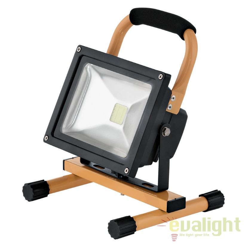 Proiector de exterior portabil, protectie IP44, LED FAEDO 93479 EL, Proiectoare de iluminat exterior , Corpuri de iluminat, lustre, aplice, veioze, lampadare, plafoniere. Mobilier si decoratiuni, oglinzi, scaune, fotolii. Oferte speciale iluminat interior si exterior. Livram in toata tara.  a
