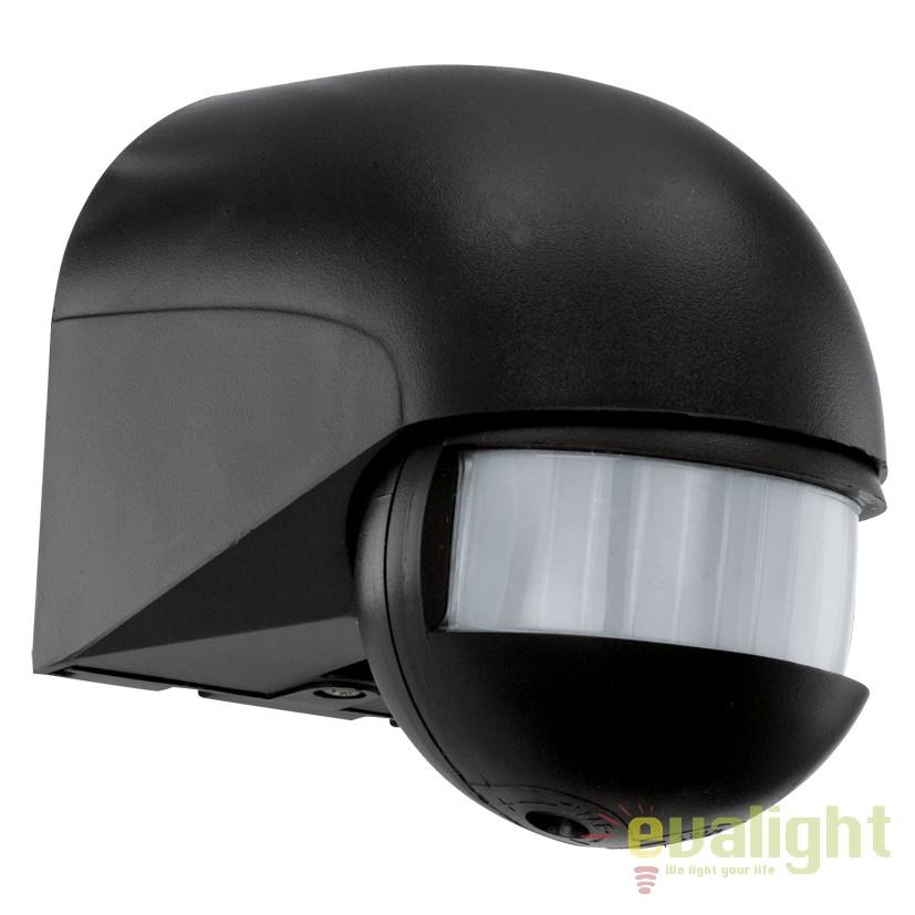 Senzor de miscare 10m, 180 de grade, protectie IP44, DETECT ME negru 30199 EL, Iluminat cu senzor de miscare, Corpuri de iluminat, lustre, aplice, veioze, lampadare, plafoniere. Mobilier si decoratiuni, oglinzi, scaune, fotolii. Oferte speciale iluminat interior si exterior. Livram in toata tara.  a