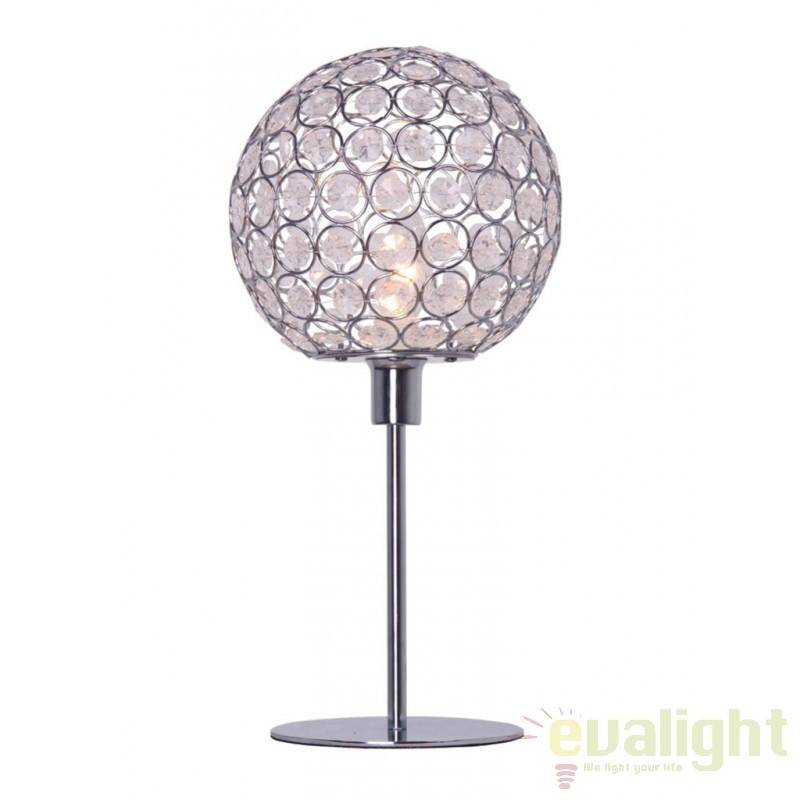 Veioza, lampa de masa moderna VENUS transparenta 261495 SU,  a