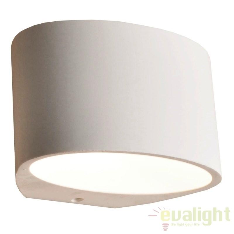 Aplice / Spot tavan fals design minimalist YESO 1L OVAL 215008 SU, Spoturi incastrate, aplicate - tavan / perete, Corpuri de iluminat, lustre, aplice a