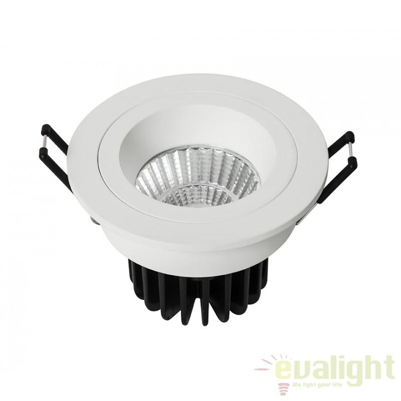 Spot LED incastrabil pentru baie IP44 COBFIX PLUS ROUND 100887 SU, Spoturi LED incastrate, aplicate, Corpuri de iluminat, lustre, aplice a