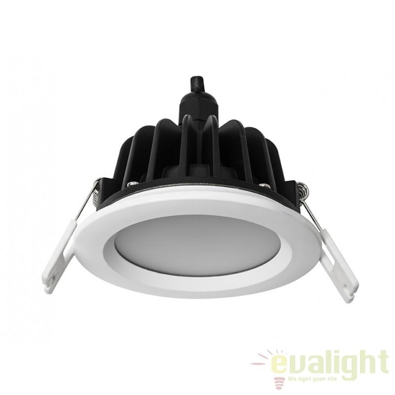Spot LED incastrabil pentru baie IP65 DOWNLIGHT ROUND 112050 SU, Spoturi incastrate, aplicate - tavan / perete, Corpuri de iluminat, lustre, aplice a