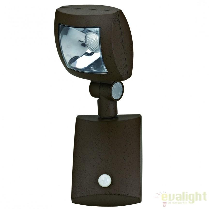 Aplica de perete LED cu senzor de miscare pentru exterior IP65 CobGale Sensor 111187 SU, Iluminat cu senzor de miscare, Corpuri de iluminat, lustre, aplice, veioze, lampadare, plafoniere. Mobilier si decoratiuni, oglinzi, scaune, fotolii. Oferte speciale iluminat interior si exterior. Livram in toata tara.  a