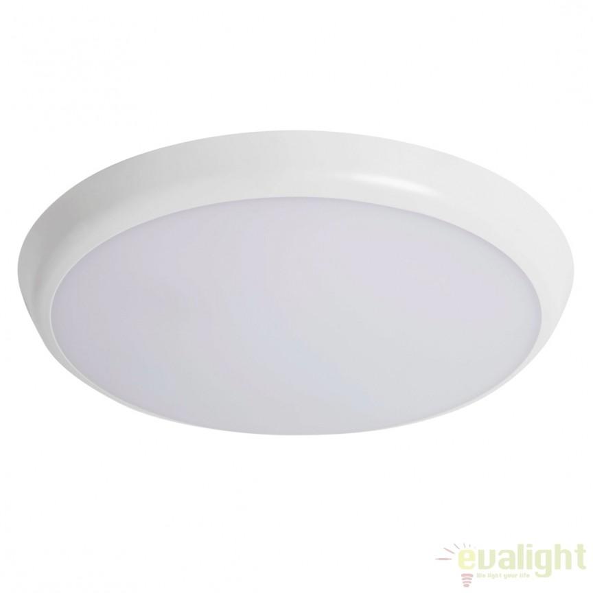 Plafoniera LED exterior cu senzor de miscare, protectie IP54 DownlightUltra Flat Sensor 112214 SU, Iluminat cu senzor de miscare, Corpuri de iluminat, lustre, aplice, veioze, lampadare, plafoniere. Mobilier si decoratiuni, oglinzi, scaune, fotolii. Oferte speciale iluminat interior si exterior. Livram in toata tara.  a