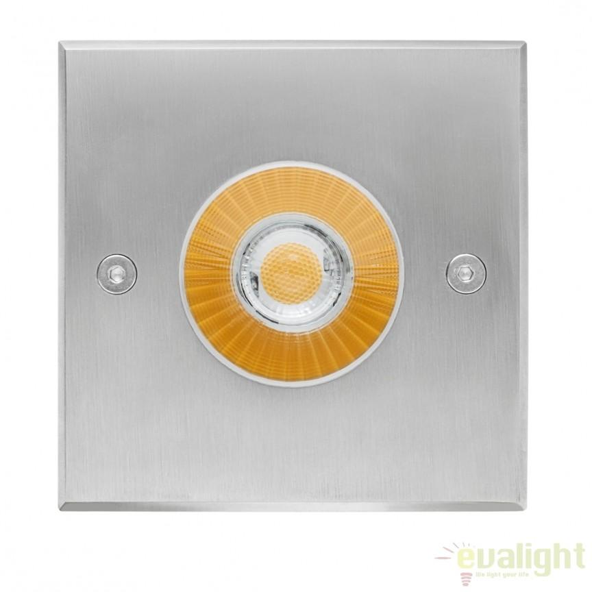 Spot LED incastrabil pentru pavaj exterior cu protectie IP67 CobSoil Round 10W 111055 SU, Iluminat exterior incastrabil , Corpuri de iluminat, lustre, aplice, veioze, lampadare, plafoniere. Mobilier si decoratiuni, oglinzi, scaune, fotolii. Oferte speciale iluminat interior si exterior. Livram in toata tara.  a