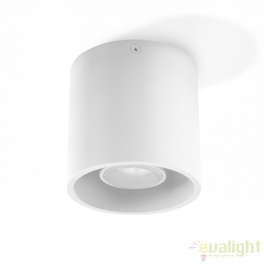 Plafoniera / Spot aplicat design modern ORBIS I alb SL.0021, Outlet,  a