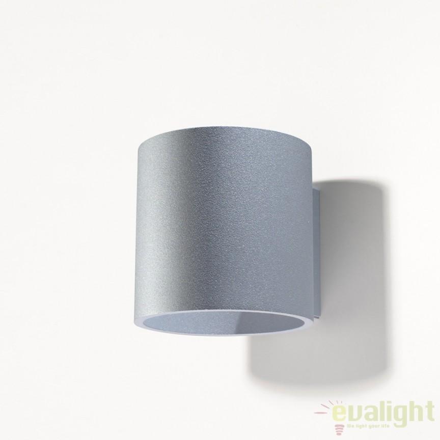 Aplica de perete design modern minimalist ORBIS I gri SL.0049