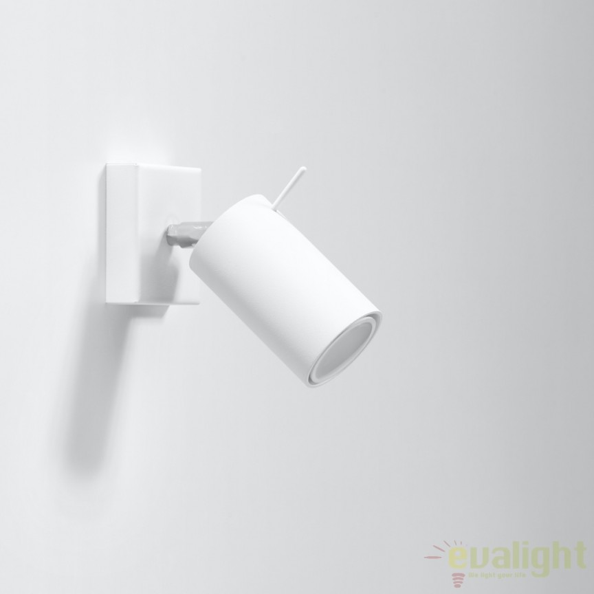 Aplica de perete design modern minimalist RING I alba SL.0087, Outlet,  a