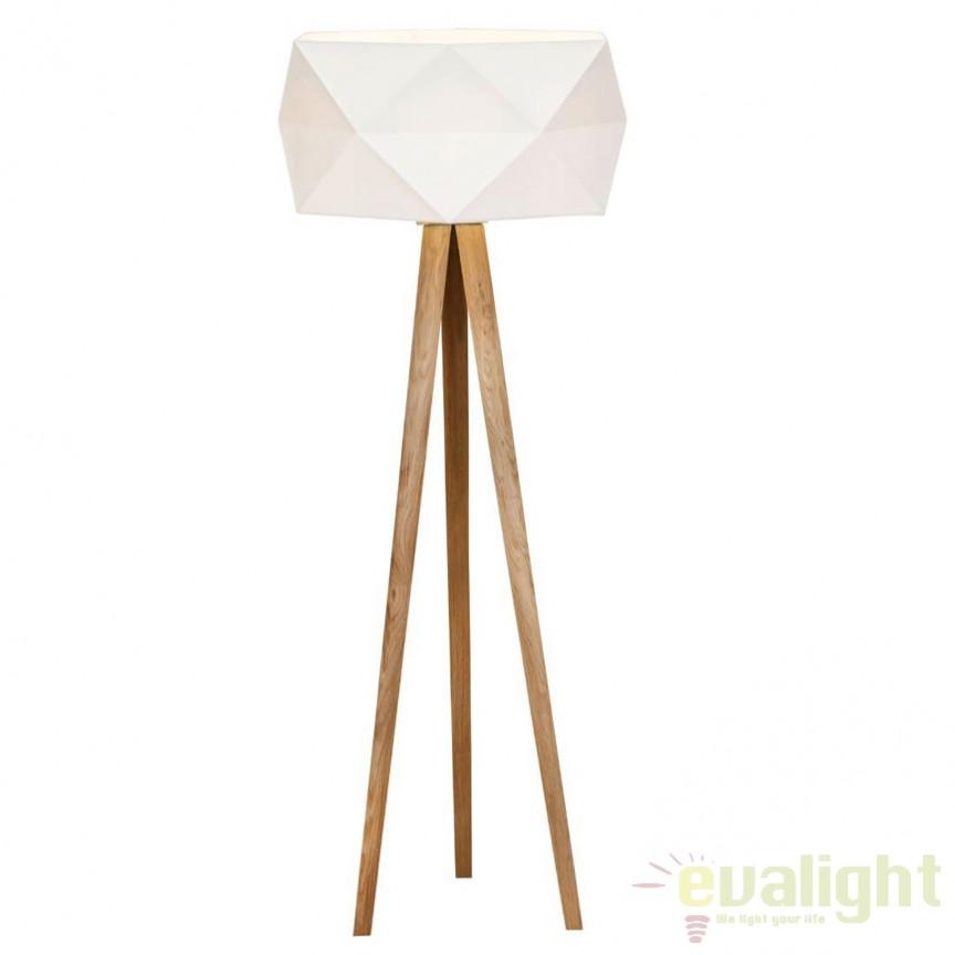 Lampadar / Lampa de podea design modern Polygon 31958/35 BL, Cele mai vandute Corpuri de iluminat, lustre, aplice, veioze, lampadare, plafoniere. Mobilier si decoratiuni, oglinzi, scaune, fotolii. Oferte speciale iluminat interior si exterior. Livram in toata tara.  a